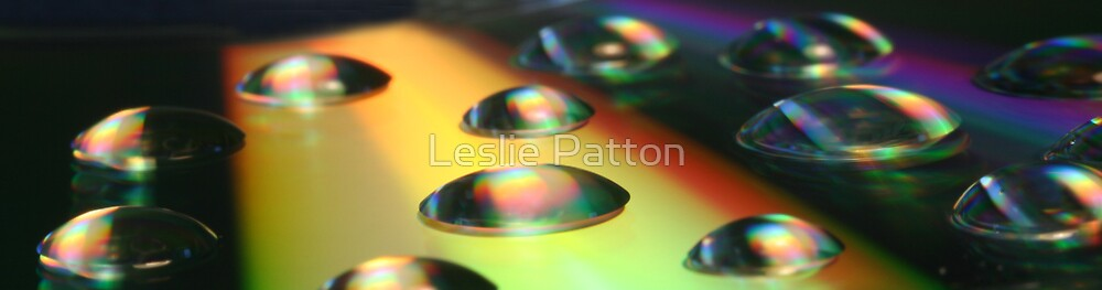 Water droplets by Leslie Patton