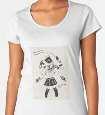 everything is black and white. Women's Premium T-Shirt