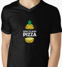 How To Ruin Pizza - Sweet Pineapple, Piña, Plant, Tree, Summer, Tropical Fruit Lovers Gift T-Shirt
