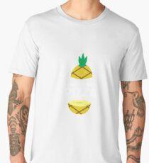 How To Ruin Pizza - Sweet Pineapple, Piña, Plant, Tree, Summer, Tropical Fruit Lovers Gift Men's Premium T-Shirt