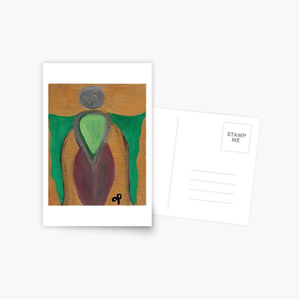 Earth Goddess Open Arms Postcard