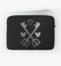 Kingdom Hearts - Crossed Keyblades Laptop Sleeve