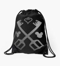Kingdom Hearts - Crossed Keyblades Drawstring Bag