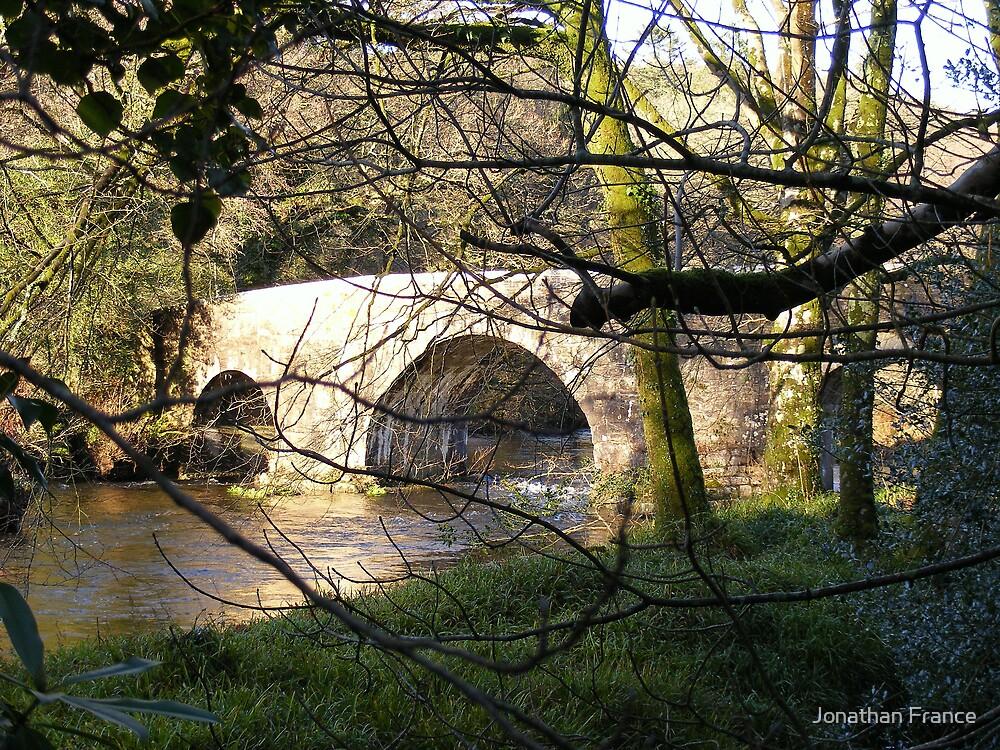 Cornish bridge at Respryn by Jonathan France