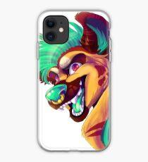 JunkYard The Hyena Furry Art iPhone Case