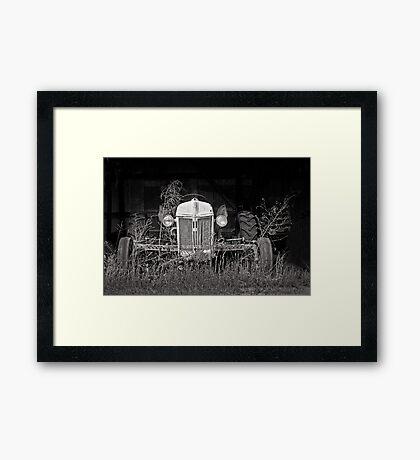 farmer's best friend Framed Print
