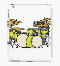 Pixel Yellow Glo Drums iPad Case/Skin