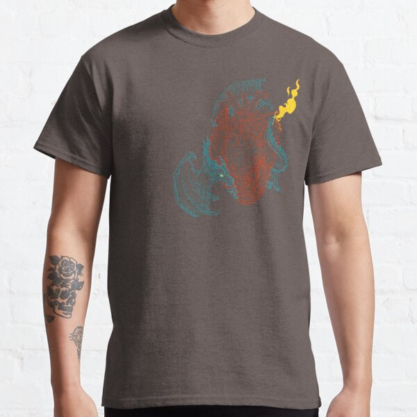 DragonHearted; Transparent Classic T-Shirt
