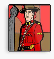 CN Mountie Metal Print