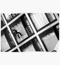 Window Washer Poster
