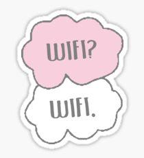 Wifi? Wifi. Sticker