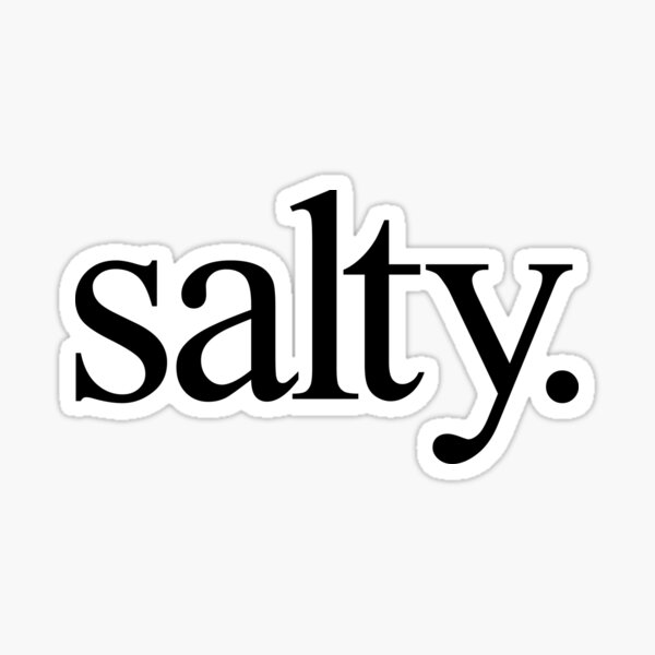Salty Sticker