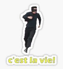 c'est la vie! Sticker