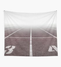 Track And Field  Wall Tapestry