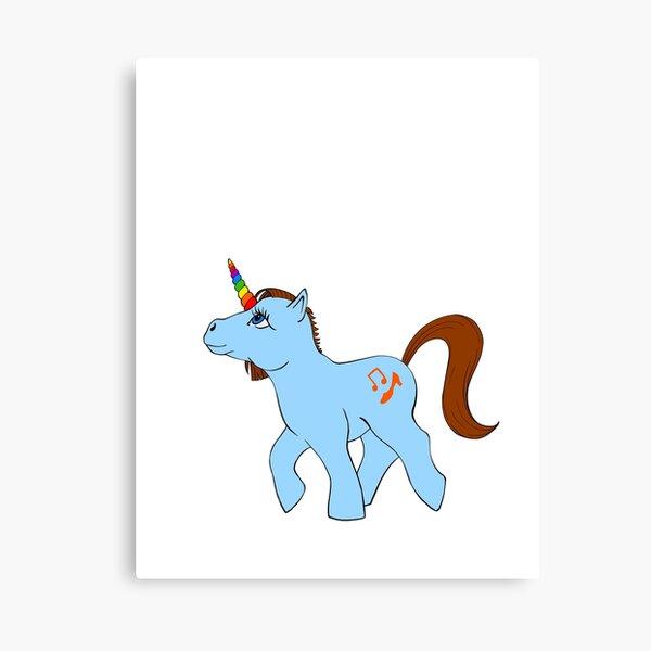 Kristin's Little Pony Canvas Print