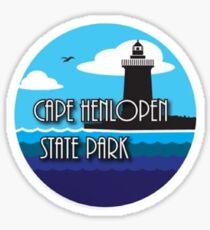 cape henlopen Sticker