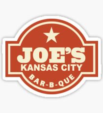 Joe's Kansas City Barbeque Sticker