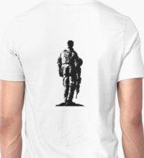 Australian Soldier Sketch T-Shirt