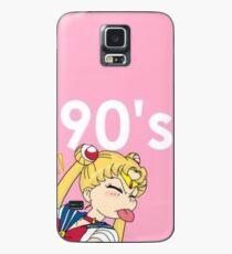 Sailor Moon 90's Ästhetik Hülle & Klebefolie für Samsung Galaxy