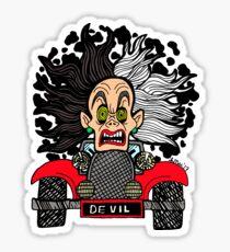 Cruella's Road Rage Sticker
