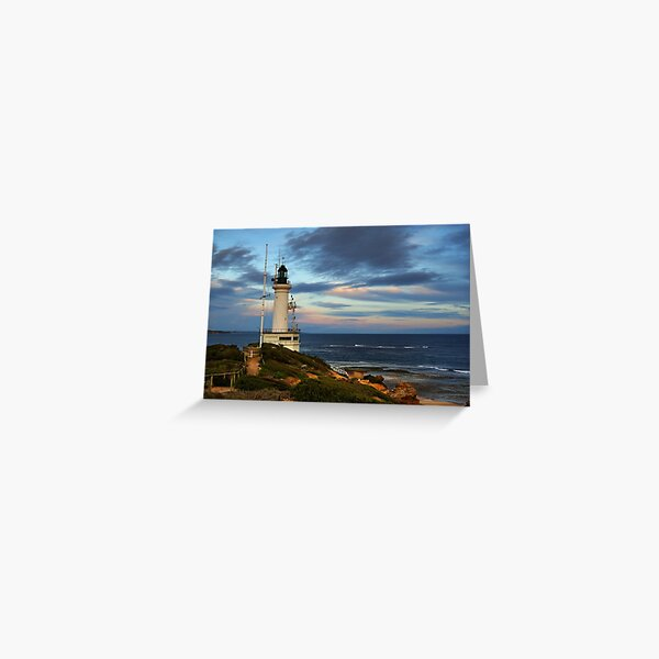 Point Lonsdale Lighthouse Greeting Card