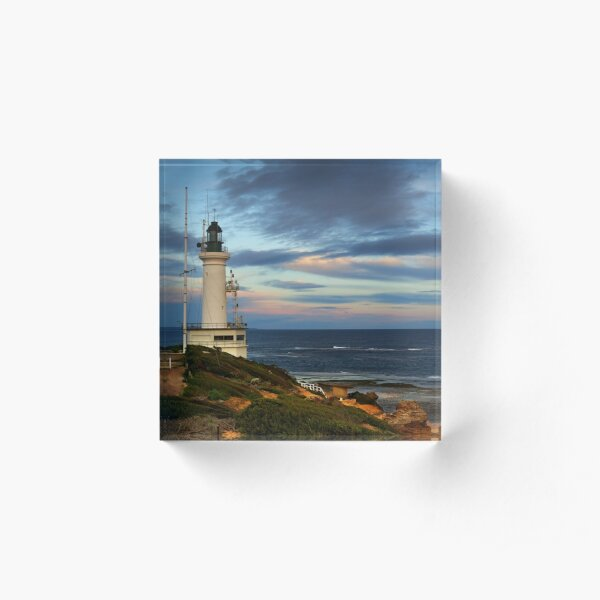 Point Lonsdale Lighthouse Acrylic Block
