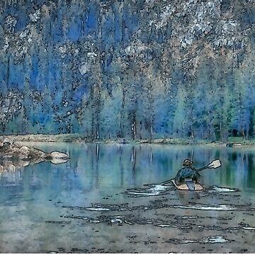 Row Thru Paradise by SalonOfArt