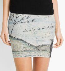Watership Down Encaustic Mini Skirt