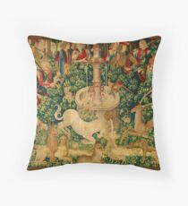 The Unicorn is Found Throw Pillow
