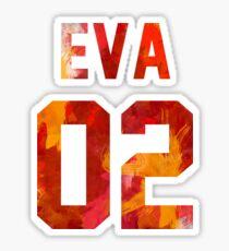 EVA-02 (Neon Genesis Evangelion) Sticker