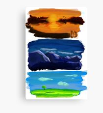 Landscapes Canvas Print