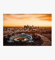 Los Angeles Stadium  Photographic Print