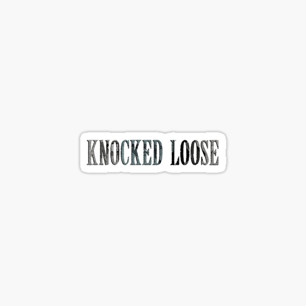 Knocked Loose  Sticker