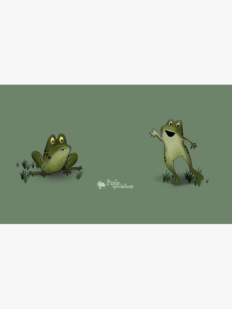Two Moods of Frog by piploproduction