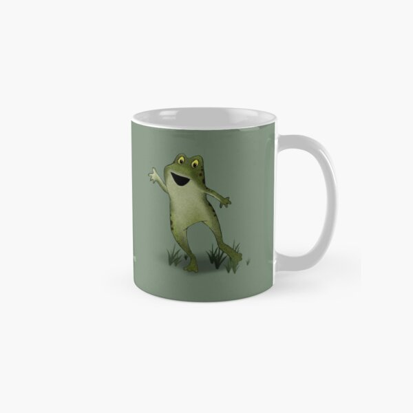 Two Moods of Frog Classic Mug