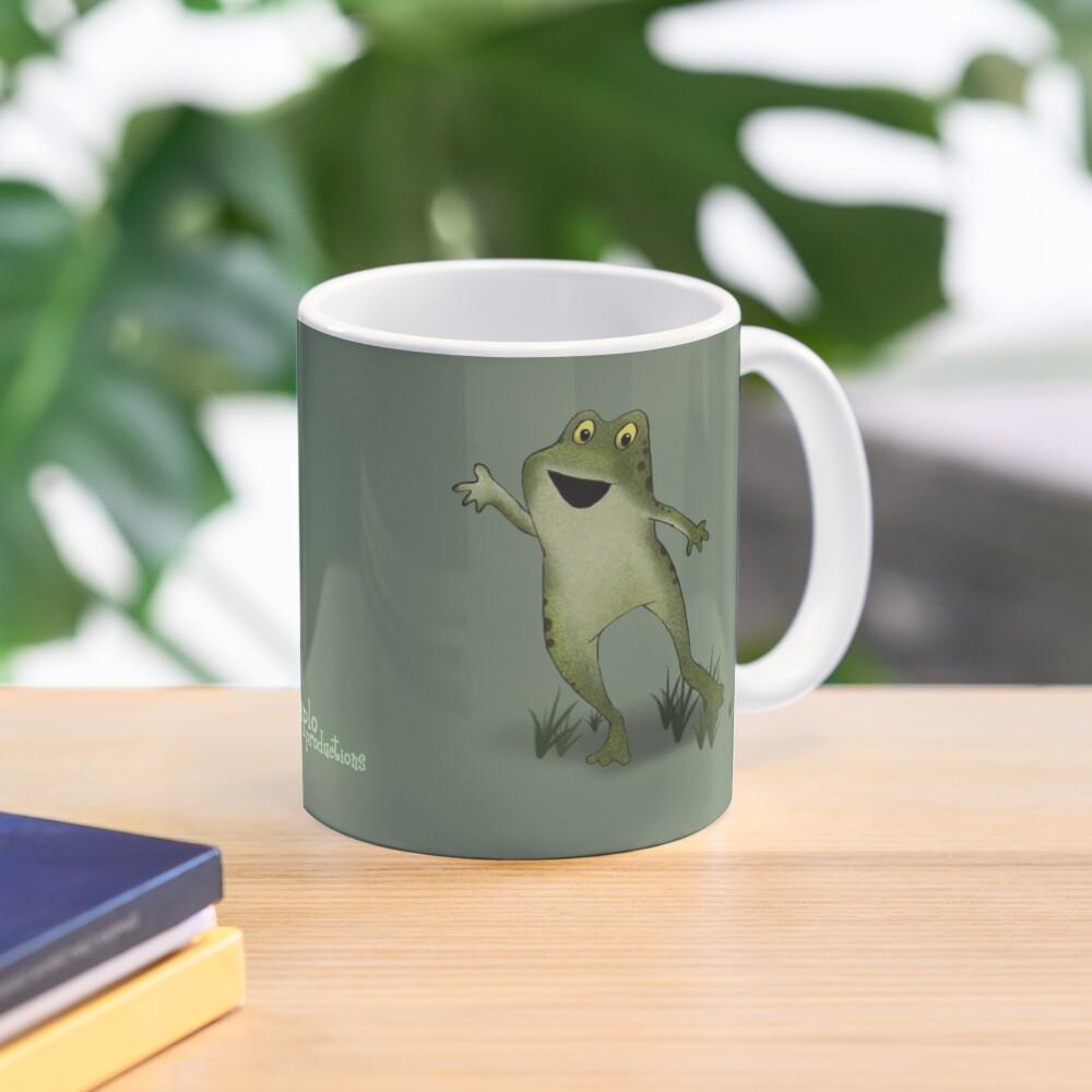 Two Moods of Frog Mug