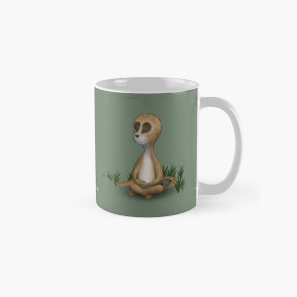 Two Moods of Meerkat Classic Mug