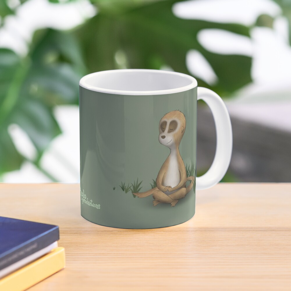 Two Moods of Meerkat Mug