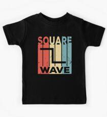 Square Wave Audio Vintage Retro Kids Clothes