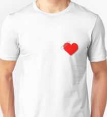 Paperclip heart Unisex T-Shirt