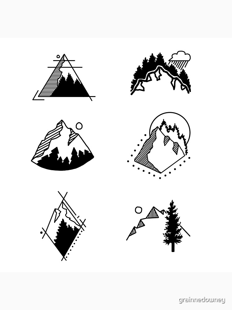 6 Mountains by grainnedowney