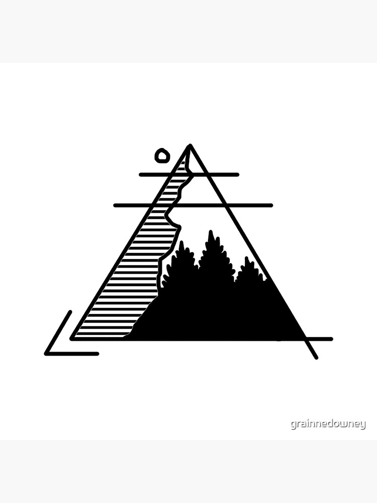 Triangle Mountain by grainnedowney