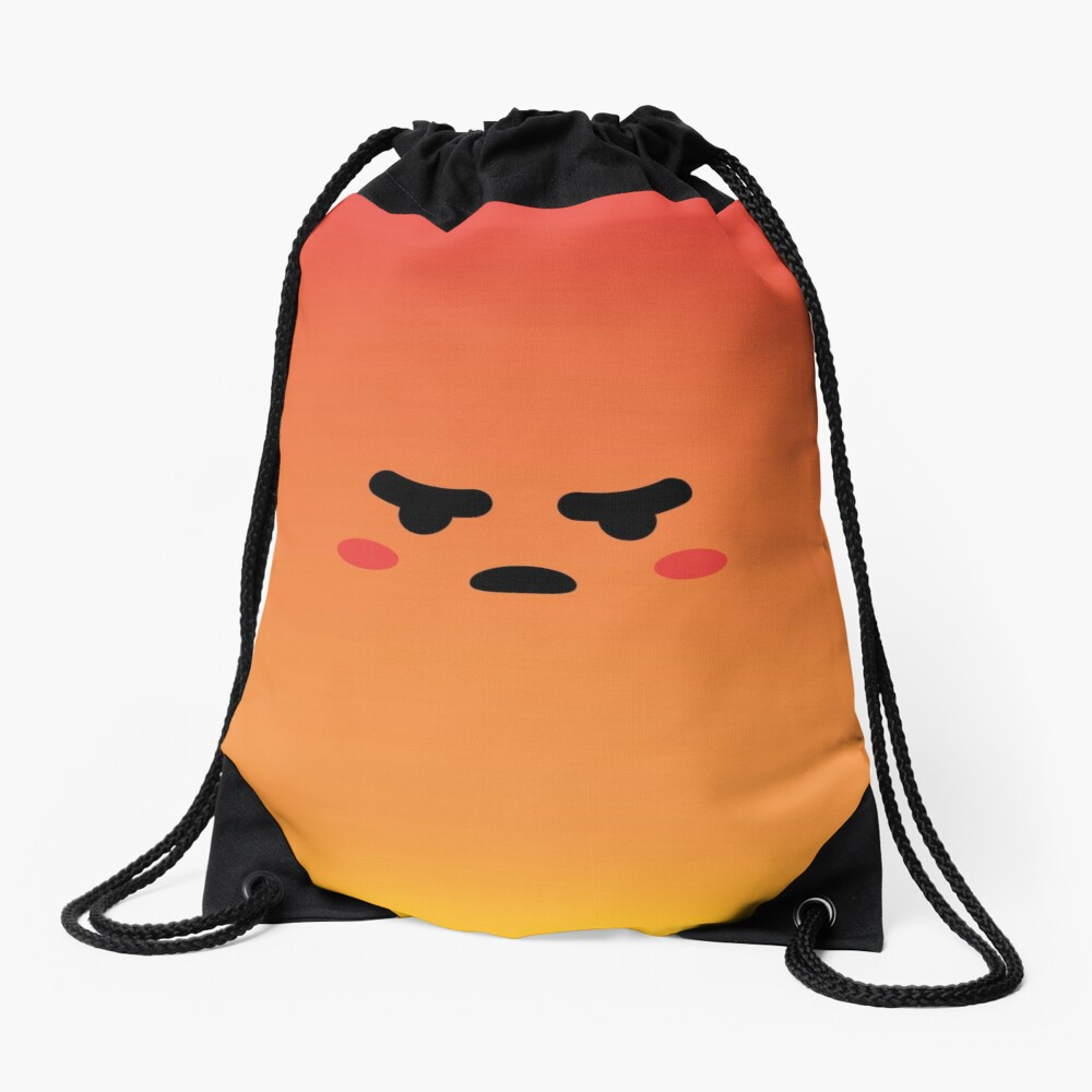 Angry React Kirby Turnbeutel
