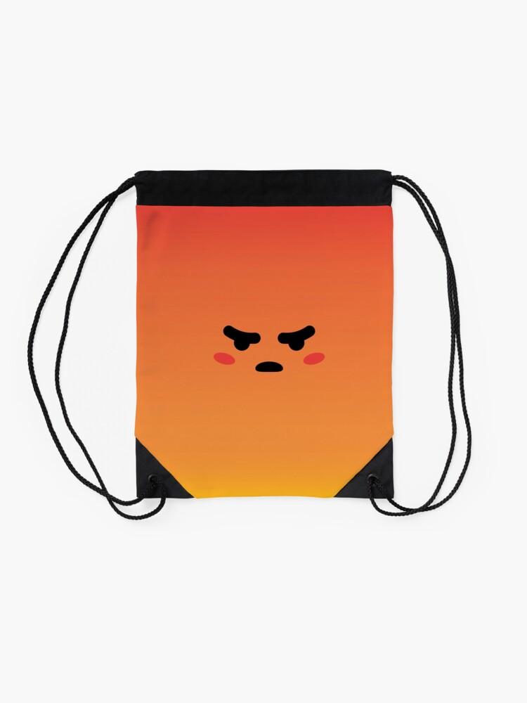 Alternative Ansicht von Angry React Kirby Turnbeutel
