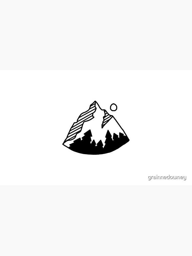 Rounded Mountain by grainnedowney