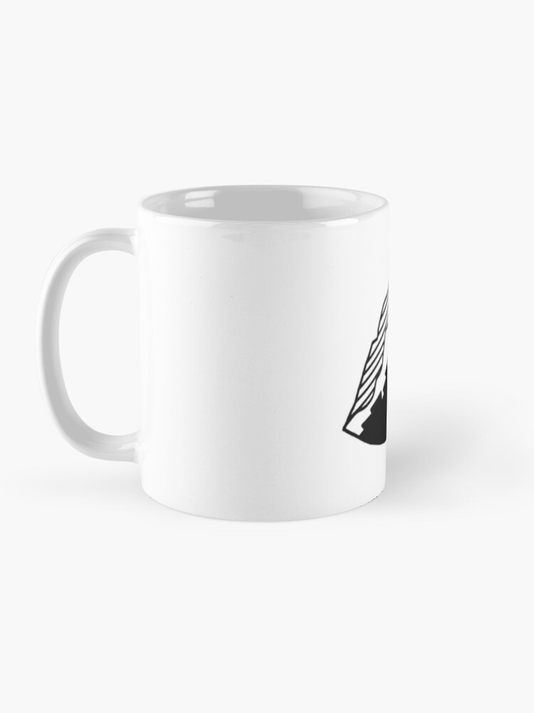 Alternate view of Rounded Mountain Mug