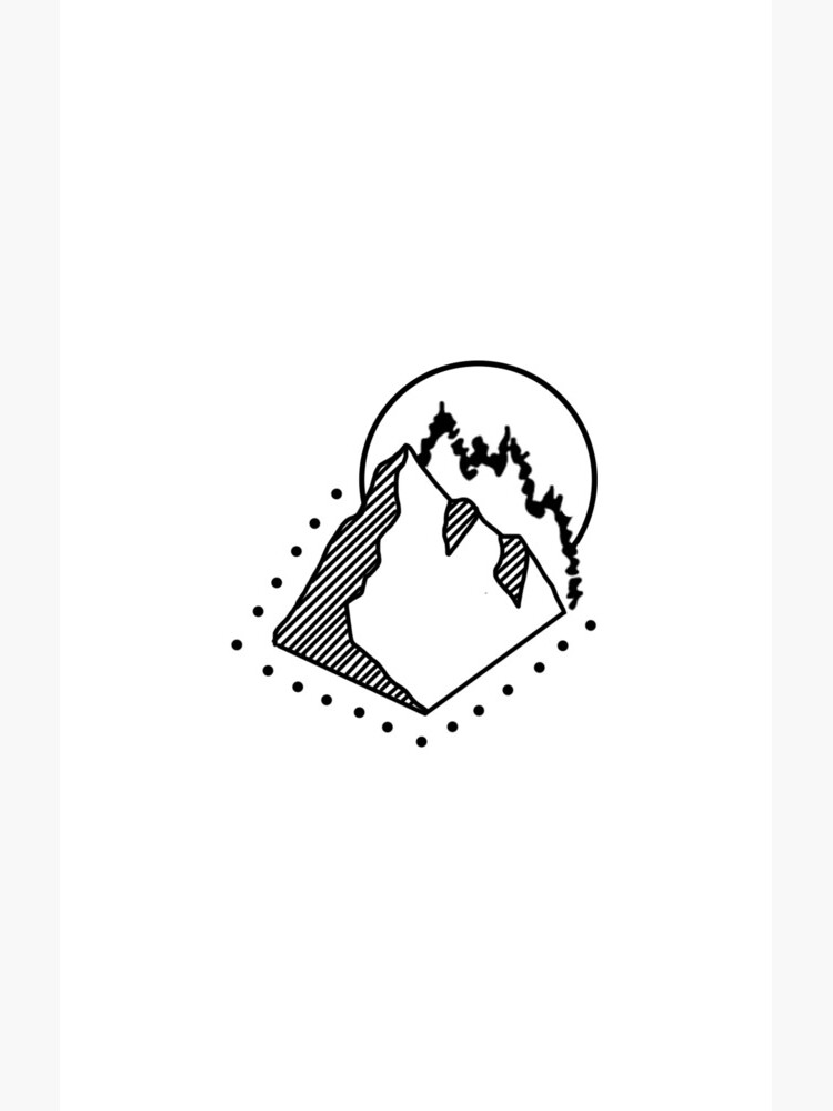 Dotted Mountain by grainnedowney