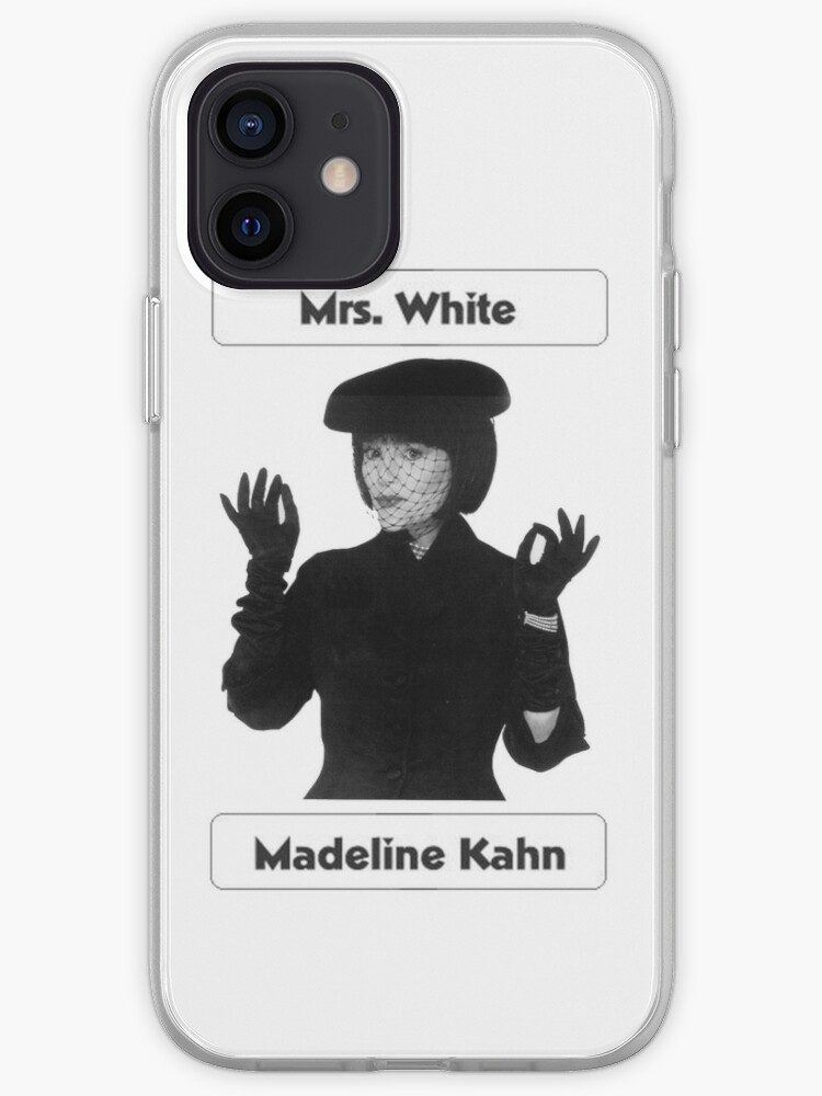 Mme White - Madeline Kahn | Coque iPhone