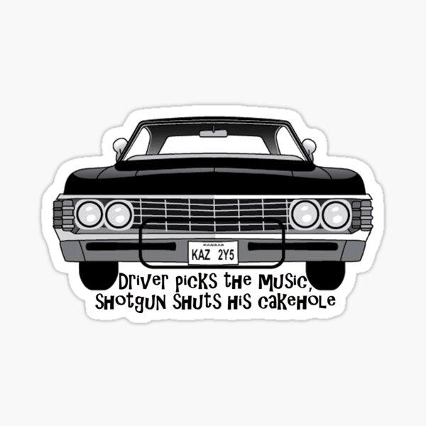 Driver Picks The Music.... Sticker