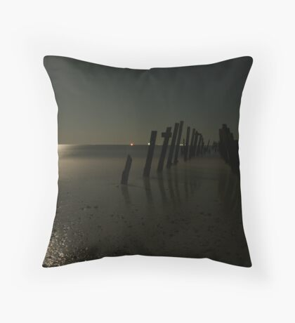 the end of the beginning Throw Pillow